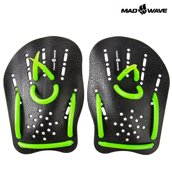 MAD WAVE PADDLES(BLACK) MAD WAVE 훈련용품 패들
