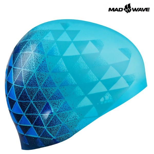 MATRIX (AZURE) MAD WAVE 실리콘 수모 수영모