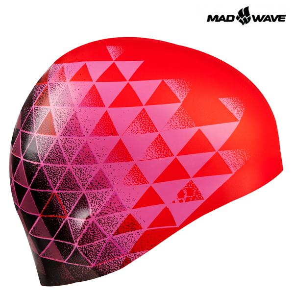 MATRIX (PINK) MAD WAVE 실리콘 수모 수영모