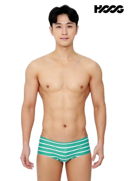 후그 MFA788 슬림핏 남성 사각 수영복