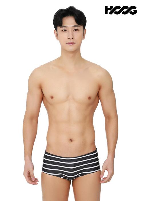 후그 MFA789 슬림핏 남성 사각 수영복