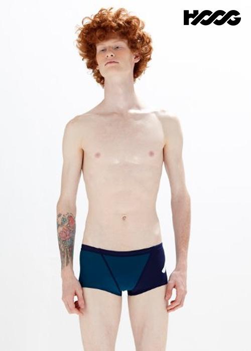 후그 MFT825 슬림핏 탄탄이 미니사각 남성 수영복