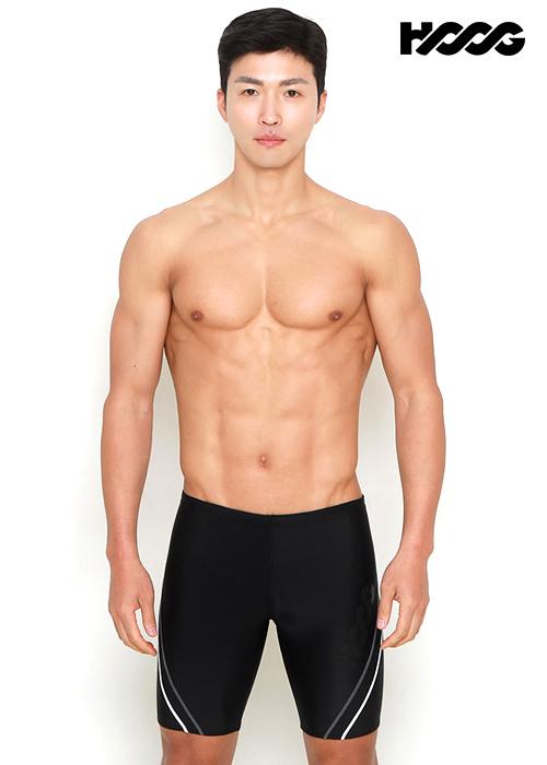 후그 MMA744 레귤러핏 4부 남성 수영복