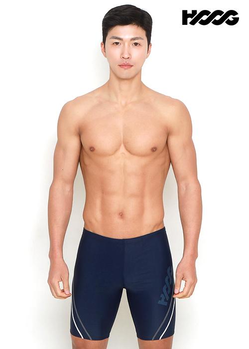 후그 MMA745 레귤러핏 4부 남성 수영복