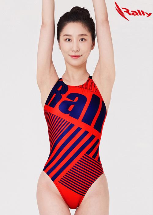 MSLA220-RED 랠리 RALLY 원피스 수영복