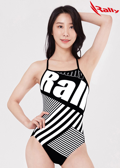MSLA230-BLK 랠리 RALLY 원피스 수영복