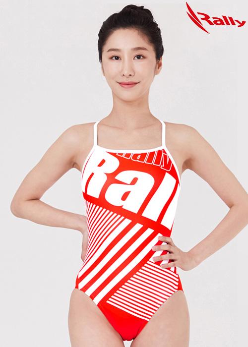 MSLA231-RED 랠리 RALLY 원피스 수영복