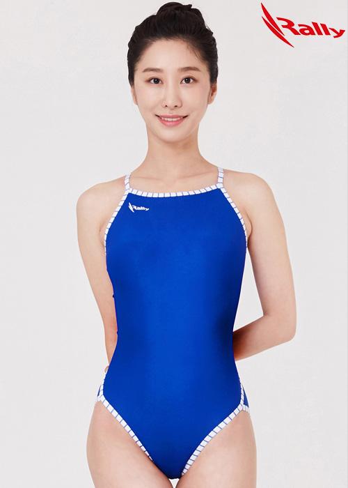 MSLA241-BLU 랠리 RALLY 원피스 탄탄이 수영복