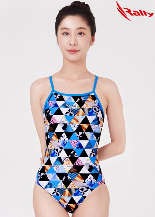 MSLA247-BLU 랠리 RALLY 원피스 탄탄이 수영복