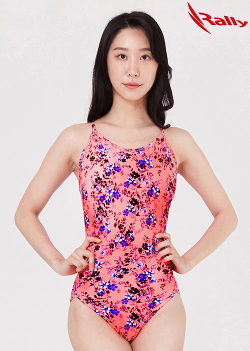 MSLA257-PNK 랠리 RALLY 원피스 탄탄이 수영복
