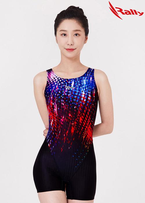 MSLH266-MLT 랠리 RALLY 반전신 아쿠아 수영복