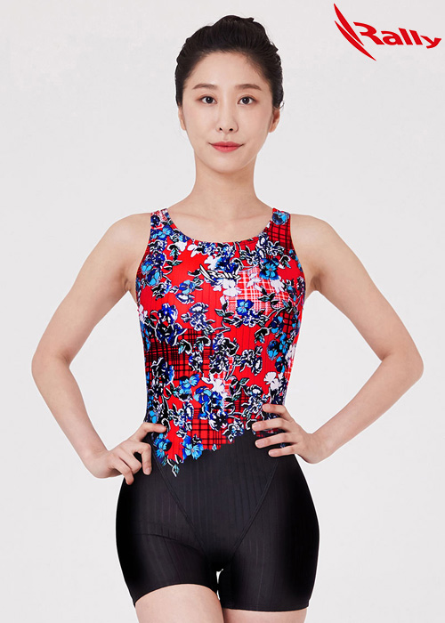 MSLH269-MLT 랠리 RALLY 반전신 아쿠아 수영복