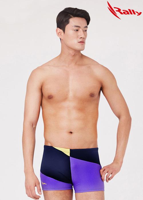 MSMQ311-MLT 랠리 RALLY 남자 사각 저항 수영복
