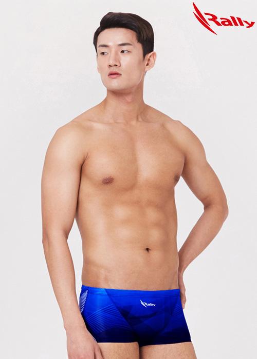 MSMR291-BLU 랠리 RALLY 남자 숏사각 탄탄이 수영복