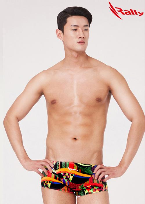 MSMR294-MLT 랠리 RALLY 남자 숏사각 탄탄이 수영복