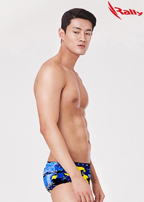 MSMR303-MLT 랠리 RALLY 남자 숏사각 탄탄이 수영복