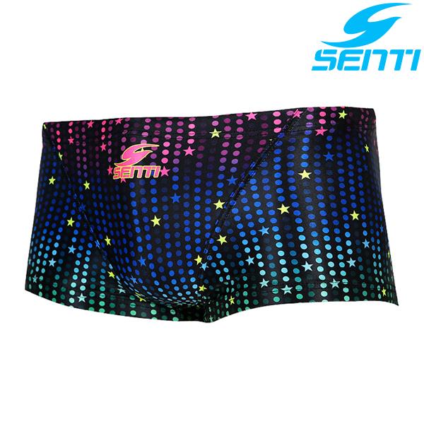센티 MSP-6413-RAINBOW 슈팅스타 남성 선수용 숏사각 수영복