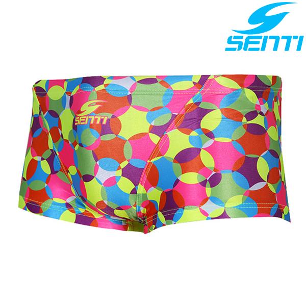 센티 MSP-6418-PINK 방울방울 남성 선수용 숏사각 수영복