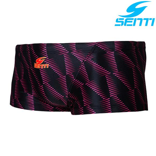 센티 MSP-7411-PINK 포이즌 남성 선수용 숏사각 수영복