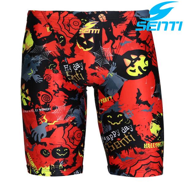 센티 MSTQ-6306-RED 할로윈센티 남성 준선수용 5부 수영복
