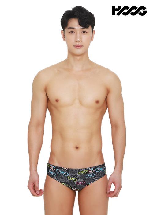 후그 MTT769 슬림핏 탄탄이 남성 삼각 수영복