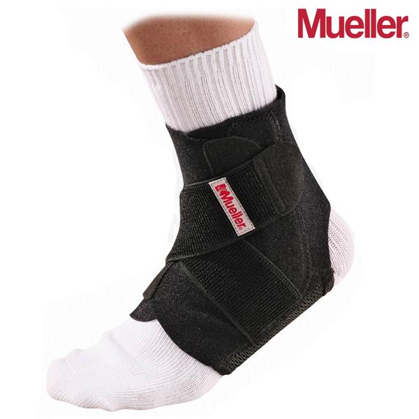 뮬러 Adjustable Ankle Stabilizer Black OSFM 조절형 발목 보호대 44547