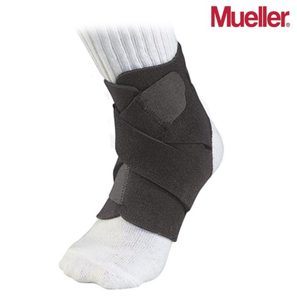 뮬러 Adjustable Ankle Support Black OSFM 조절형 발목 보호대 4547