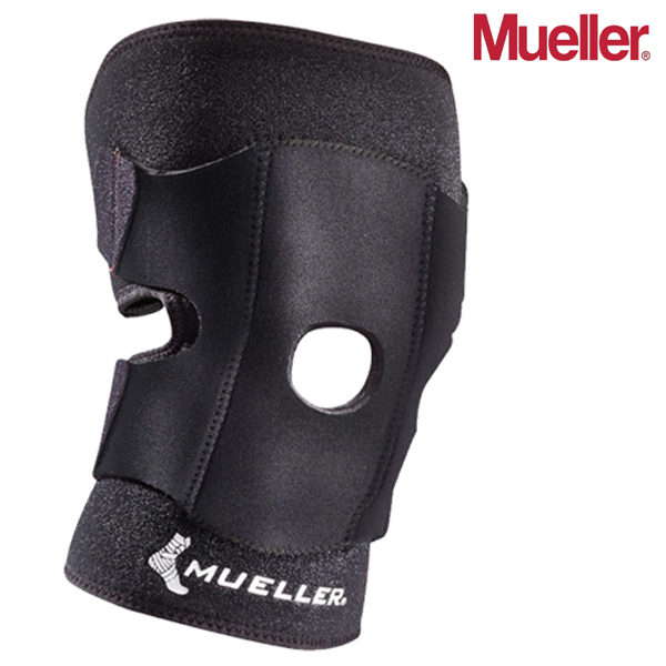 뮬러 Adjustable Knee Support Open Patella 니 슬리브 57227