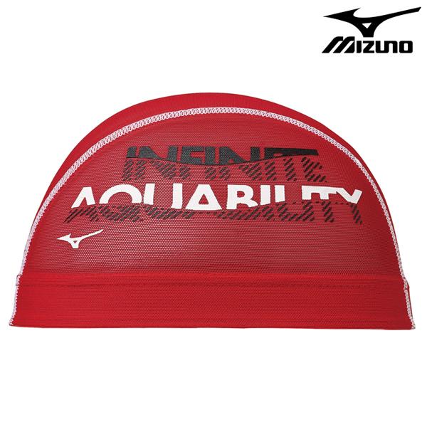 N2JW0013-62 미즈노 MIZUNO 메쉬 수모 수영모