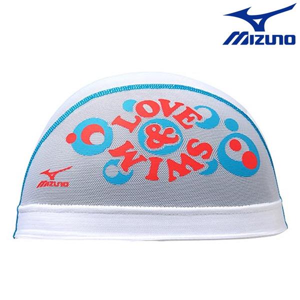 N2JW7021(01) MIZUNO 미즈노 메쉬 수모 수영모