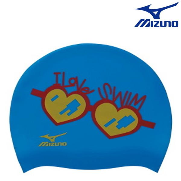 N2JW7041(24) MIZUNO 미즈노 실리콘 수모 수영모