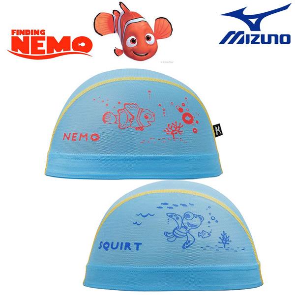 N2JW7080(24) MIZUNO 미즈노 메쉬 수모 수영모 픽사