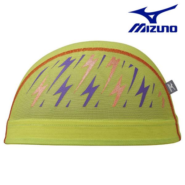 N2JW7508(39) 옐로그린 MIZUNO 미즈노 메쉬 수모 수영모