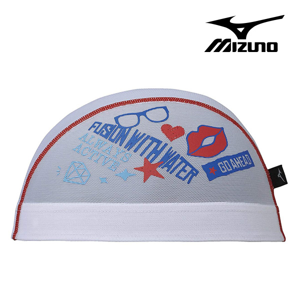 N2JW8512-01 미즈노 MIZUNO 메쉬 수모 매쉬 수영모