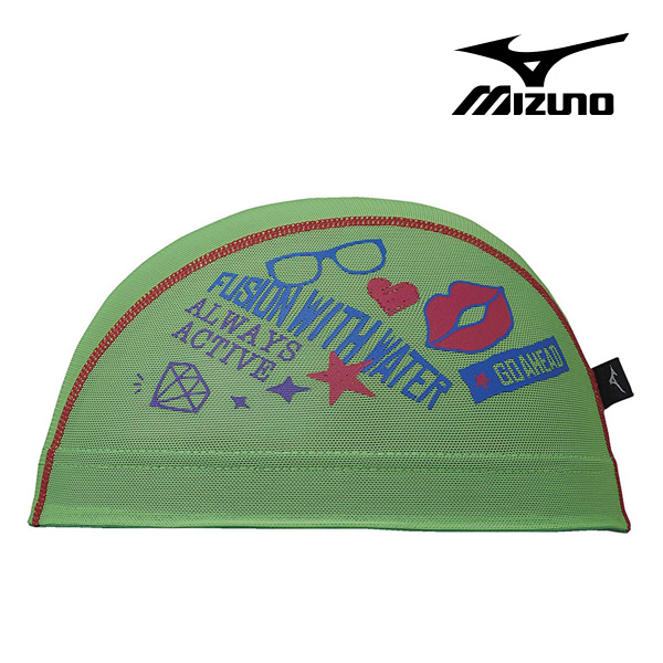 N2JW8512-36 미즈노 MIZUNO 메쉬 수모 매쉬 수영모