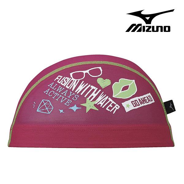 N2JW8512-65 미즈노 MIZUNO 메쉬 수모 매쉬 수영모