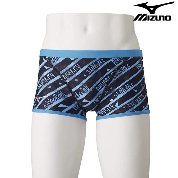 N2MB0567-27 미즈노 탄탄이 숏사각 수영복