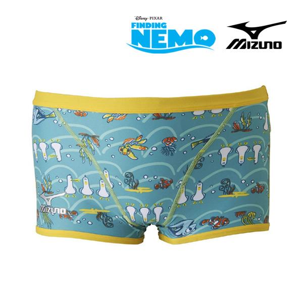 N2MB7580(32) 미즈노 사각 탄탄이 수영복 니모