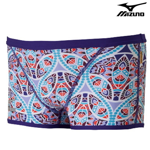 N2XB7563(67) MIZUNO 미즈노 숏 사각 탄탄이 수영복