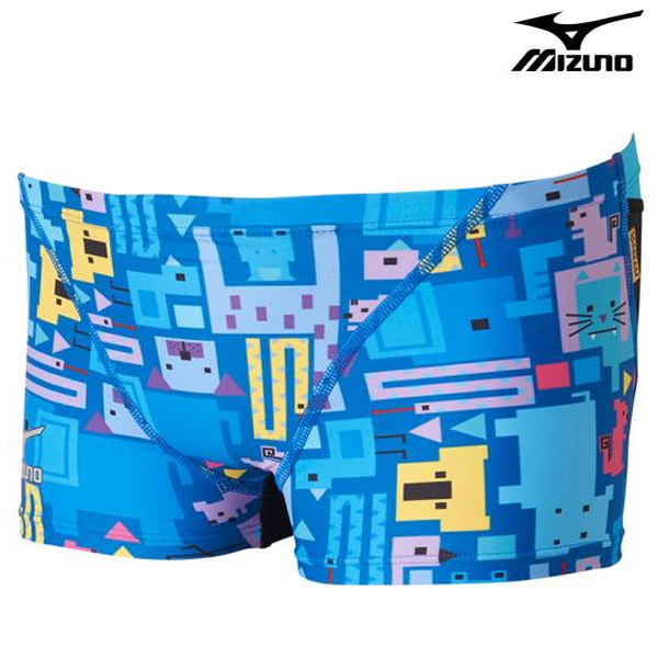 N2XB7568(27) MIZUNO 미즈노 숏 사각 탄탄이 수영복