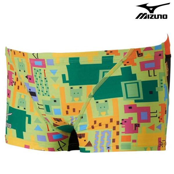 N2XB7568(37) MIZUNO 미즈노 숏 사각 탄탄이 수영복
