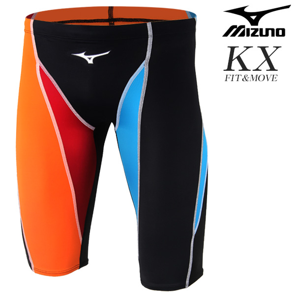 N2XB8037-75 미즈노 MIZUNO KX원단 5부 선수용 수영복