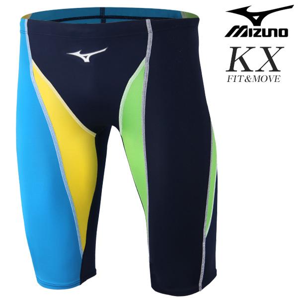 N2XB8037-83 미즈노 MIZUNO KX원단 5부 선수용 수영복