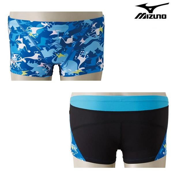 N2XB8073-27 MIZUNO 미즈노 숏사각 탄탄이 수영복