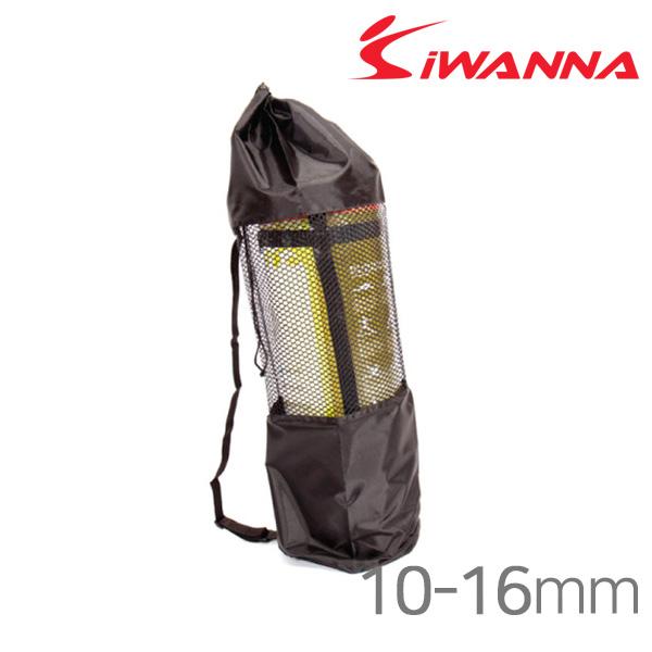 아이워너 요가매트가방-10-16mm-블랙