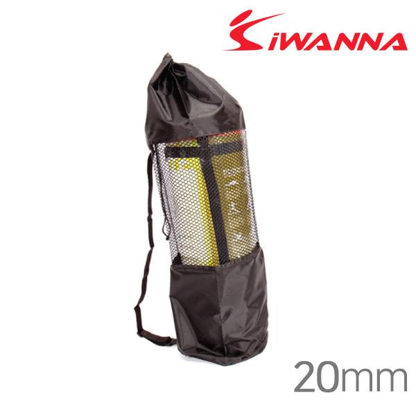 아이워너 요가매트가방-20mm-블랙