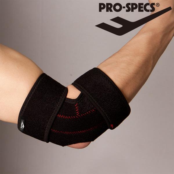 프로스펙스 팔꿈치보호대-X0A1-블랙