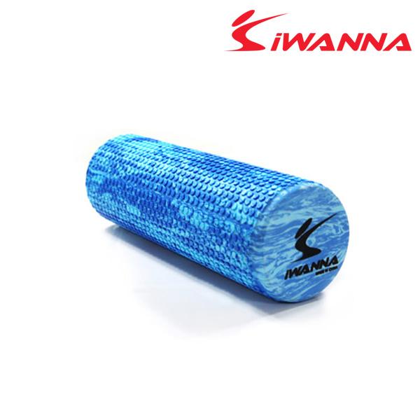 아이워너 마블폼롤러-45cm-마블-블루