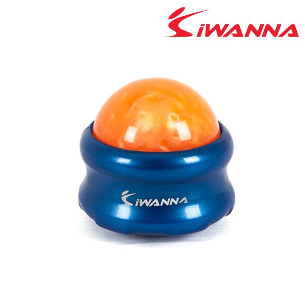 아이워너 마사지롤링볼-바디:블루 볼:오렌지