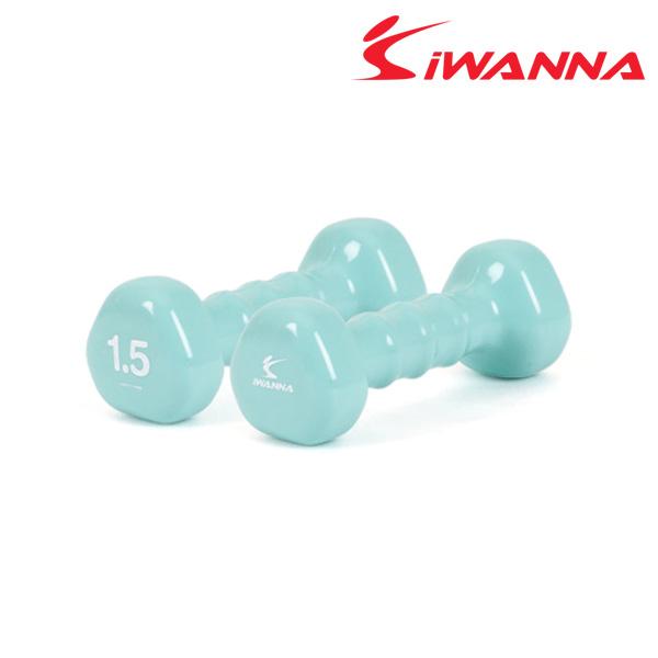 아이워너 PVC삼각아령g-1.5kg 네오 민트